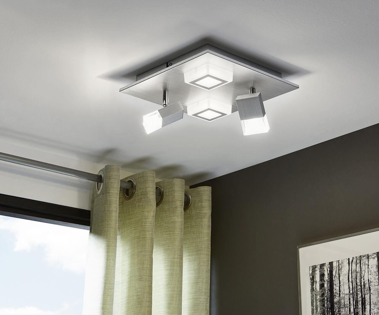 светильники для натяжных потолков - фото